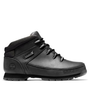 TIMBERLAND Euro sprint Bottines black full en cuir