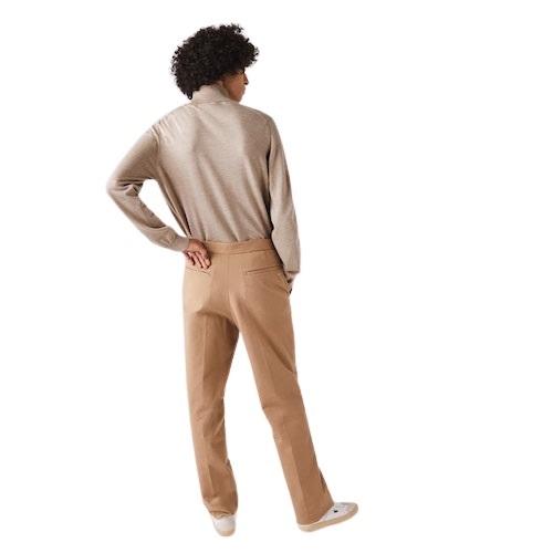 Sport Aventure Orange Pull col roulé Lacoste laine vêtement sport et mode magasin homme et femme