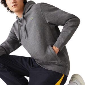 LACOSTE Sweatshirt Sport gris