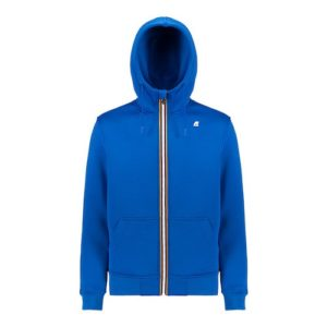 K WAY Béranger blue sweat zippé