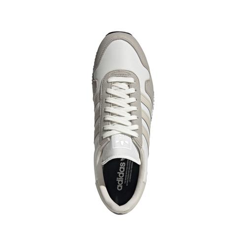 chaussures ADIDAS ORIGINALS USA 80 modèle rétro brown beige sneakers mode sport aventure à Orange