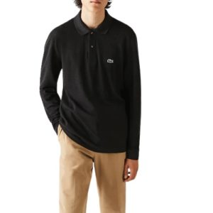 LACOSTE Polo classic anthracite  M. Longues