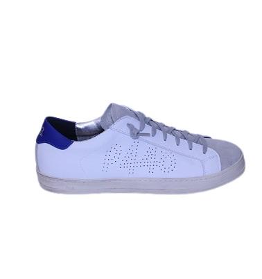 Sneakers P 448 cuir baskets homme et femme marque italienne
