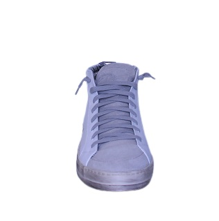 basket montante en cuir P 448 MODE chaussures sport P448 boutique sport aventure Orange cuir italien sneakers p448 MID
