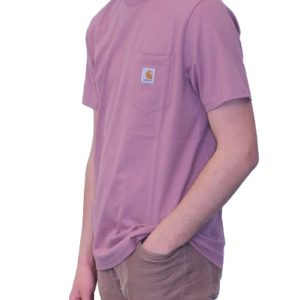 CARHARTT T-Shirt Pocket rose malaga