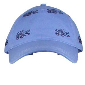 LACOSTE Casquette brodée bleu