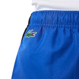LACOSTE Pantalon Sport bandes siglées bleu