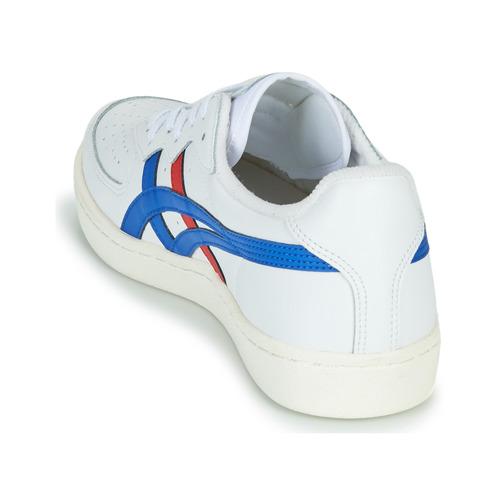 baskets Asics Onitsuka tiger GSM en cuir bleu blanc rouge magasin de sport aventure à Orange.