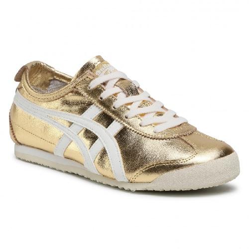 sneaker Asics Onitsuka gold femme cuir chaussures femme Asics sport et mode basse boutique sport aventure à Orange