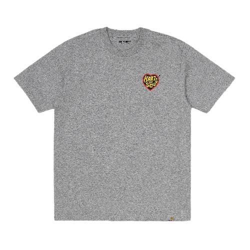nouveauté t-shirt Carhartt wip hartt of soul gris coton bio sport aventure Orange
