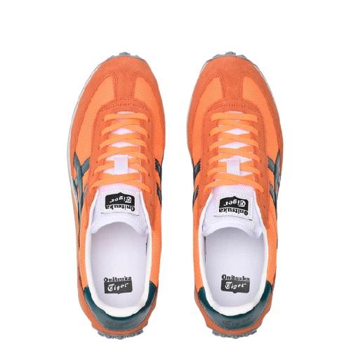 Sneakers Asics Onitsuka tiger chaussures runnig en suede et mesh pour la mode et le sport magasin sport aventure à Orange