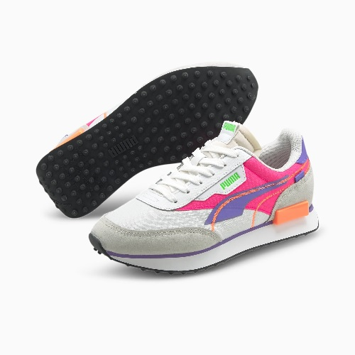 baskets femme puma future rider sneakers mode sport magasin sport aventure Orange baskets running puma