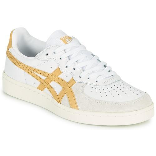 chaussures Asics Onitsuka Tiger GSM jaune basket cuir Asics Homme sport blanc magasin de sport sport aventure à Orange