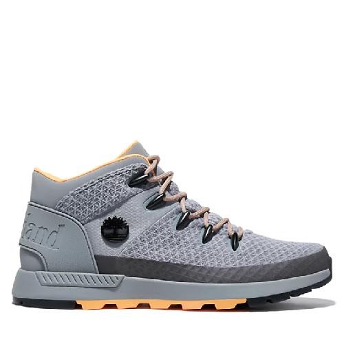 chaussures de randonnée mid Timberland légère mi hauteur en matière plastique recyclé sprint trekker Timberland homme magasin sport aventure à Orange mode et sport