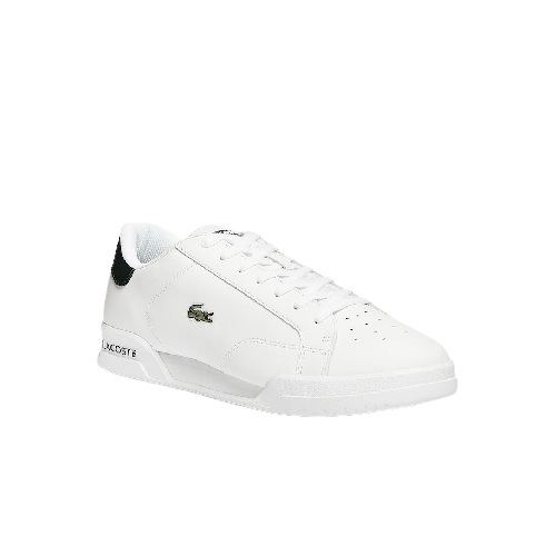 chaussures Lacoste sneakers Lacoste en cuir blanc marine sport mode magasin sport aventure à Orange sport Lacoste vetement sacoches polo t-shirts