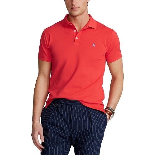 Polo slim fit RALPH LAUREN et stretch bleu turquoise t-shirt polo sweatshirt casquette ralph lauren boutique sport aventure à Orange RALPH LAUREN