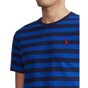 RALPH LAUREN T-shirt bleu rayé