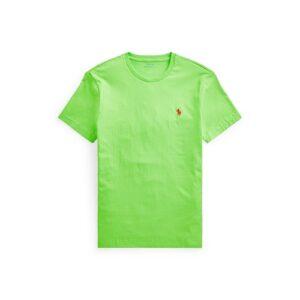 RALPH LAUREN T-Shirt lime Col Rond Slim
