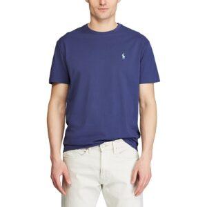 RALPH LAUREN T-Shirt navy Col Rond Slim