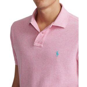 RALPH LAUREN Polo pink ajusté