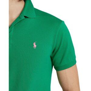 RALPH LAUREN Polo Slim Fit green