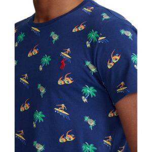 RALPH LAUREN T-shirt surf marine