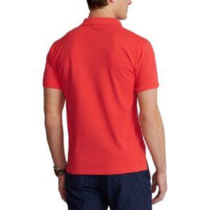 RALPH LAUREN Polo Slim orange et stretch