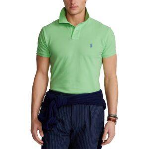 RALPH LAUREN Polo vert ajusté