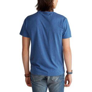 RALPH LAUREN T-Shirt royal Col Rond Slim