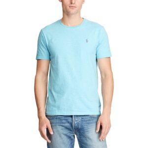 RALPH LAUREN T-Shirt ciel Col Rond Slim