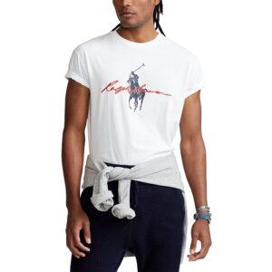RALPH LAUREN T-shirt Bigpony white