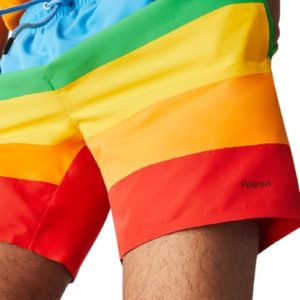 LACOSTE Short bain Polaroid multicolore