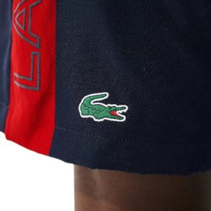 LACOSTE Short Sport marine color-block