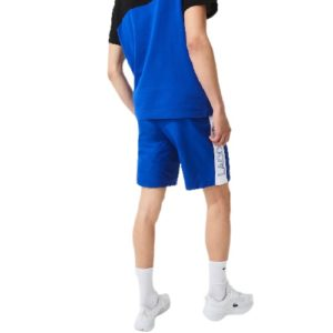LACOSTE Short Sport bleu color-block