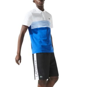 LACOSTE Short Sport noir color-block