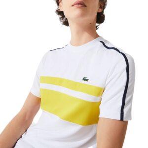 LACOSTE T-shirt Tennis blanc