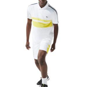 LACOSTE Polo Tennis blanc Sport