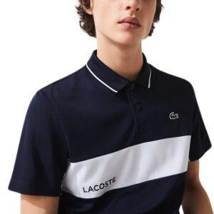LACOSTE Polo ultra dry noir sport