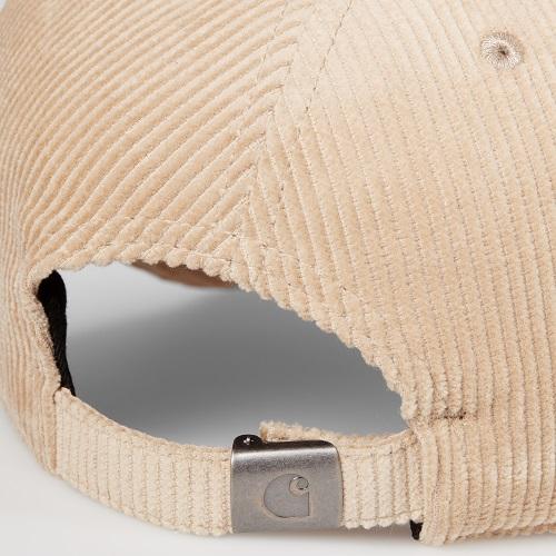 casquette harlem velours carhartt wip accessoires casquette velours côtelé carhartt sport aventure à Orange mode et sport