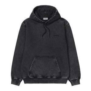 CARHARTT Hooded Mosby black sweatshirt