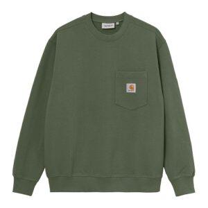 CARHARTT Pocket sweatshirt dollar green