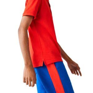 LACOSTE Polo slim redcurrent Piqué de Coton Uni