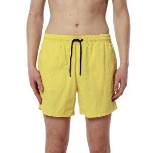 K-WAY Short Olivier jaune en ripstop