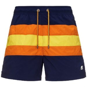 K-WAY Short Hazel tricolore