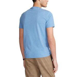 RALPH LAUREN T-Shirt pale Col Rond Slim