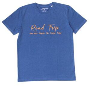 BONMOMENT T-shirt Road trip star coton bio