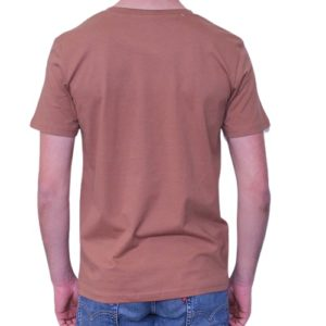 BONMOMENT T-shirt Into the wild ochre coton bio