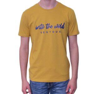 BONMOMENT T-shirt Into the wild caramel coton bio