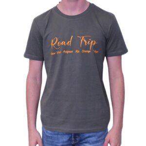 BONMOMENT T-shirt Road trip kaki coton bio