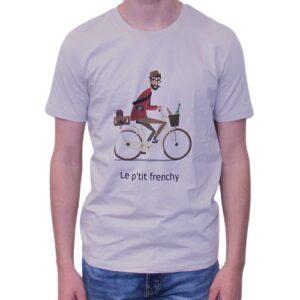 BONMOMENT T-shirt Ptit Frenchy desert coton bio